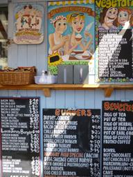 Sandwich au crabe à Jersey