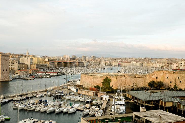 Le Vieux-Port à Marseille